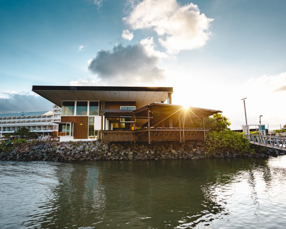Cairns Restaurant on the Trinity Inlet