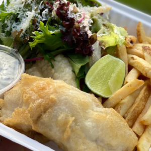 Reef fish and chips